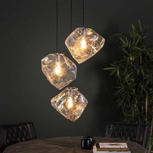 Ceiling Light Rock 3L-Furnwise-Luxe Interior
