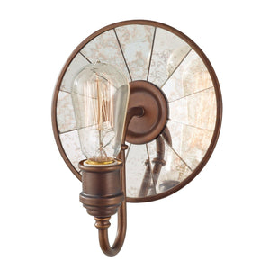 Urban Renewal 1 Light Wall Light – Astral Bronze-Feiss-Luxe Interior