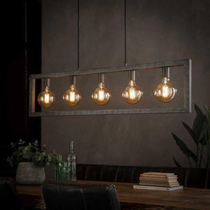 Industrial Ceiling Light Aiden 5L-Furnwise-Luxe Interior