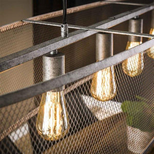 Industrial Ceiling Light Glentham-Furnwise-Luxe Interior