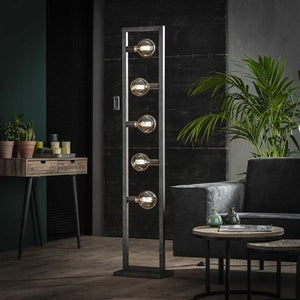 Industrial Floor lamp Aiden 5L-Furnwise-Luxe Interior