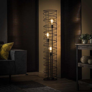 Industrial Floor Lamp Valley-Furnwise-Luxe Interior
