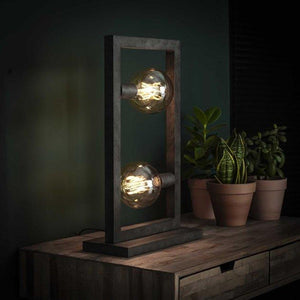 Industrial Table Lamp Aiden-Furnwise-Luxe Interior