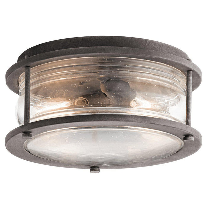 Ashlandbay 2 Light Outdoor Ceiling Flush