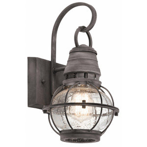 Bridge Point 1 Light Small Wall Lantern-Kichler-Luxe Interior