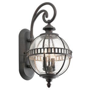 Halleron 2 Light Wall Lantern-Kichler-Luxe Interior