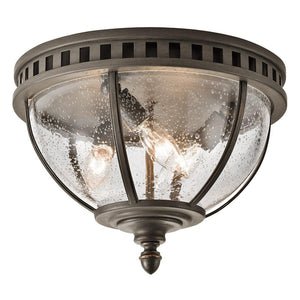 Halleron 3 Light Ceiling Flush-Kichler-Luxe Interior