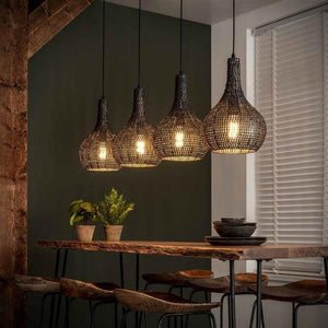 Retro Ceiling Light Charlie 4L Cone-Furnwise-Luxe Interior