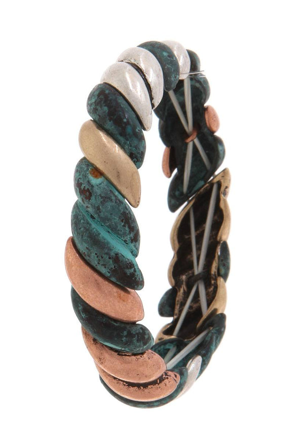 Patina Stretch Bracelet