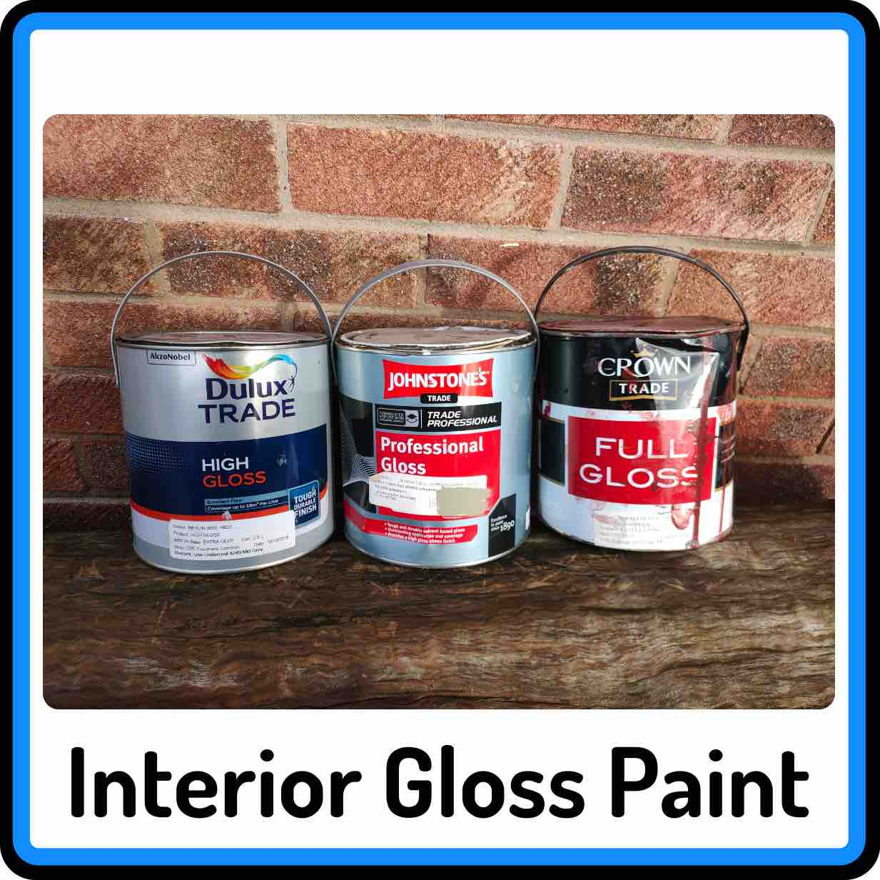 View our selection of Interior Gloss Paints