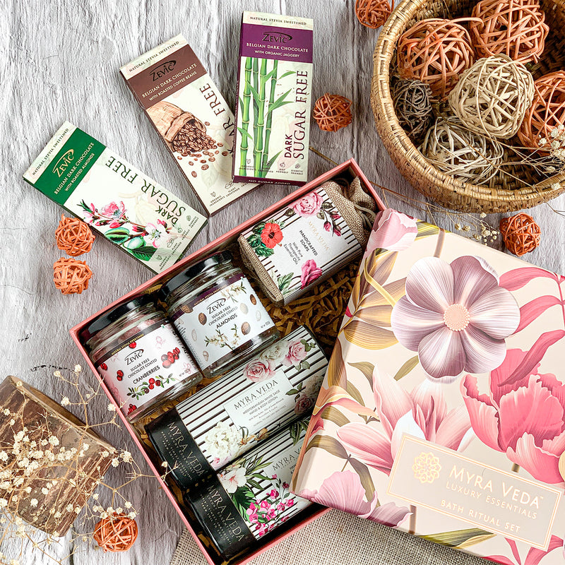Organic Luxury Myra Veda ft. Zevic- Stevia Small Gift Hamper