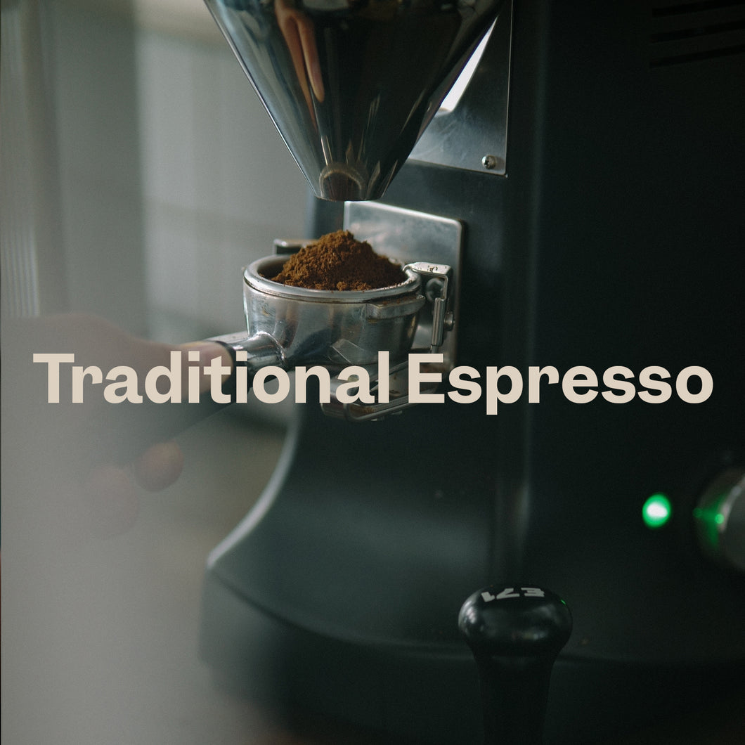 Traditional Espresso