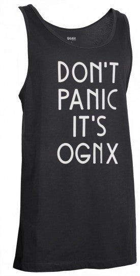 Tanktop unisex - Dont Panic It`s OGNX