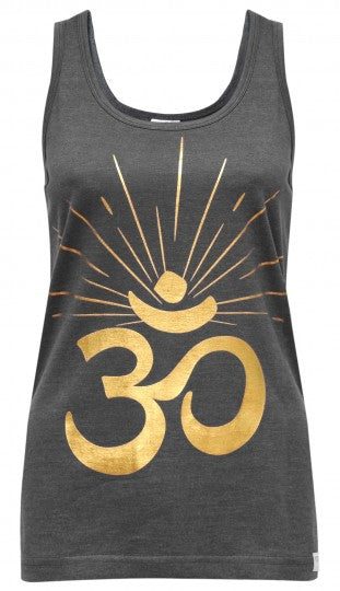 Yoga Tank Top - OM sunray