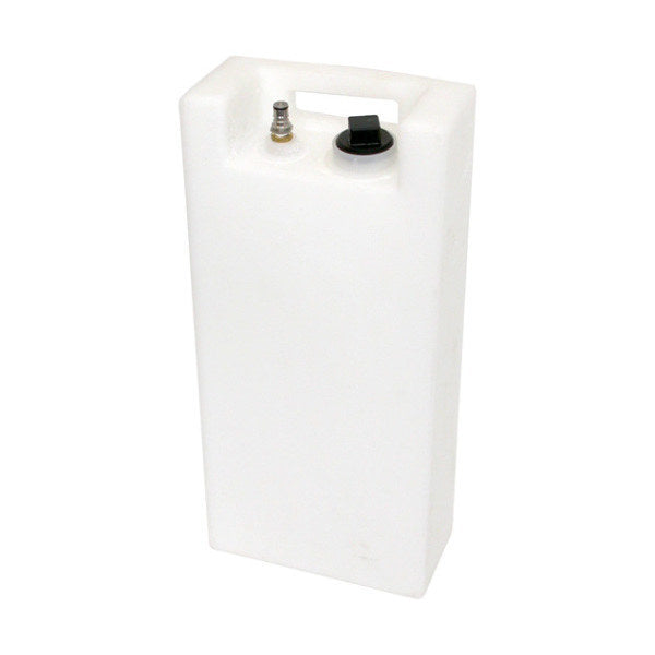 Polyethylene Fresh Water Tank w/ Quick Connect - Espresso Carts