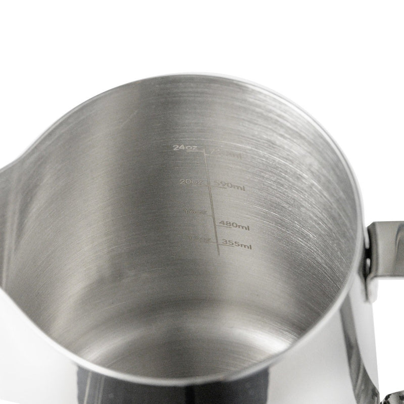 Frothing Pitcher 32 Oz. Barista Basics By Espresso Parts