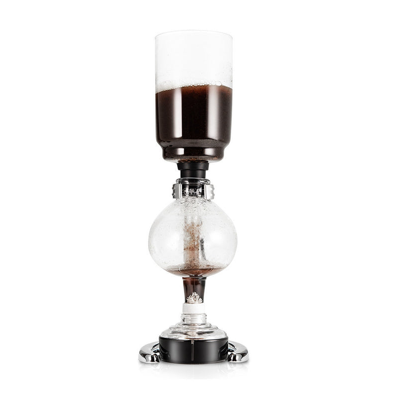 Yama Glass 3 Cup Tabletop Siphon (Syphon) (Alcohol Burner) (Available for pre-order. Estimated to ship the week of March 19th)