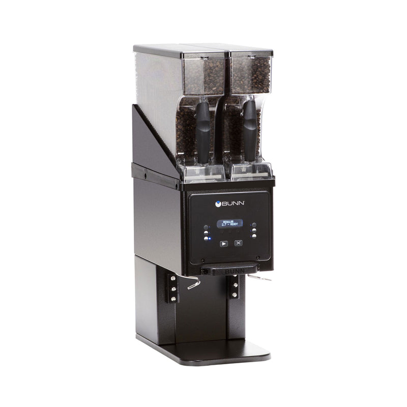 bunn multi hopper grinder black