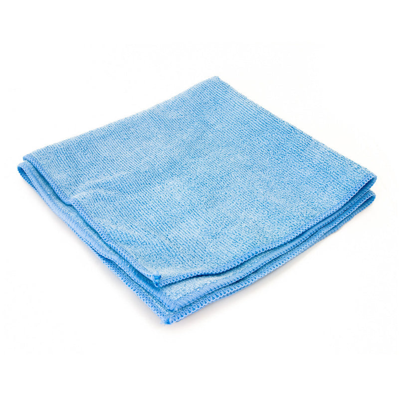 "Microfiber Blue Cloth Towel 16"" x 16"""
