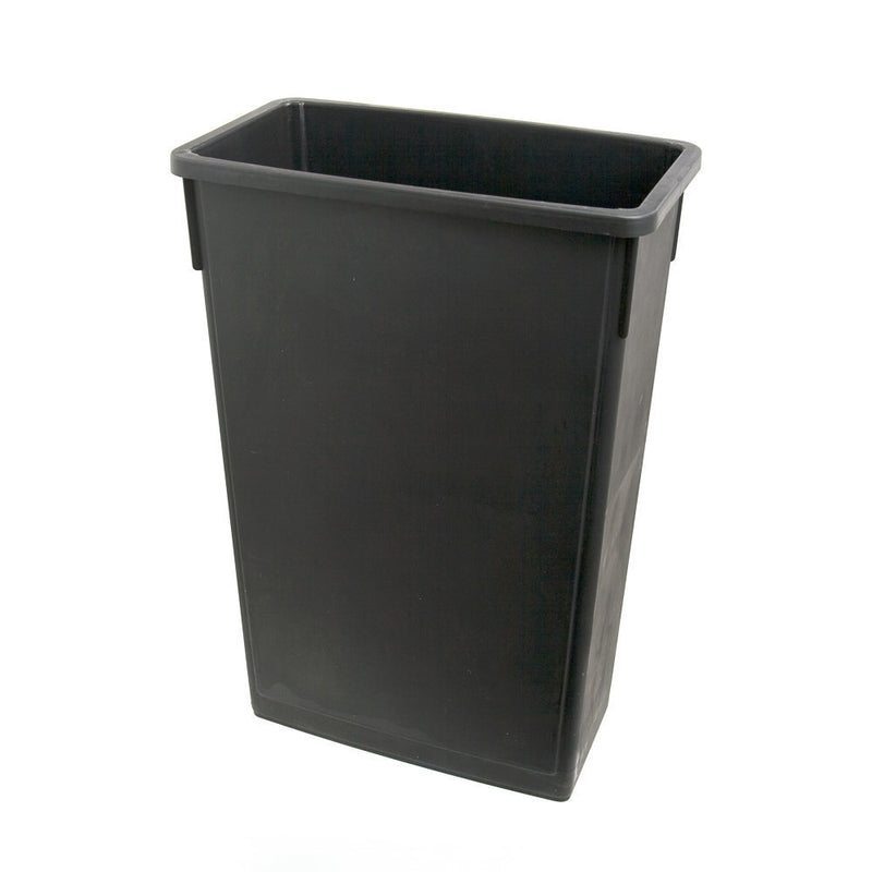 23 Gallon Plastic Space Saver Trash Can