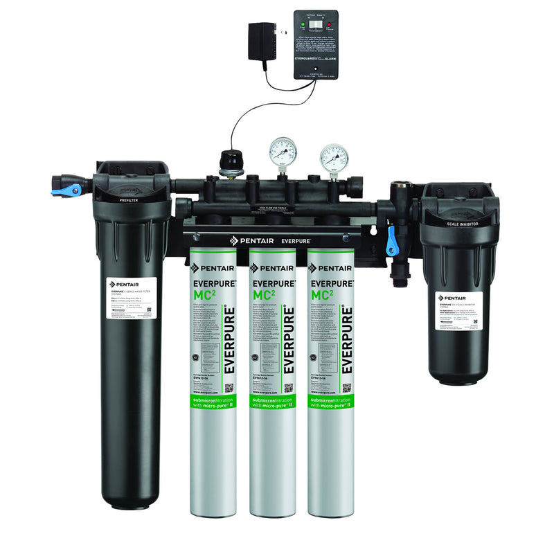 Everpure High Flow CSR Triple Head Water Filter Kit (Special Order Item)