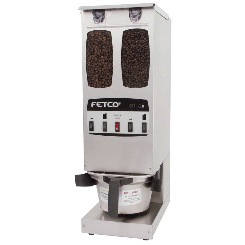 Fetco GR Series 2.2 Dual Hopper Portion Control Coffee Grinder (Ships in 15 days)