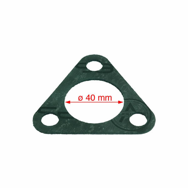 Heating Element Gasket - Large Three Hole - Paper