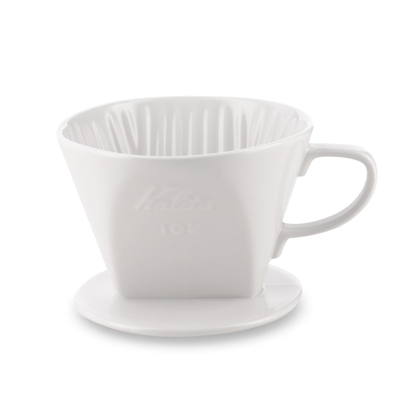 kalita style ceramic dripper 102 white