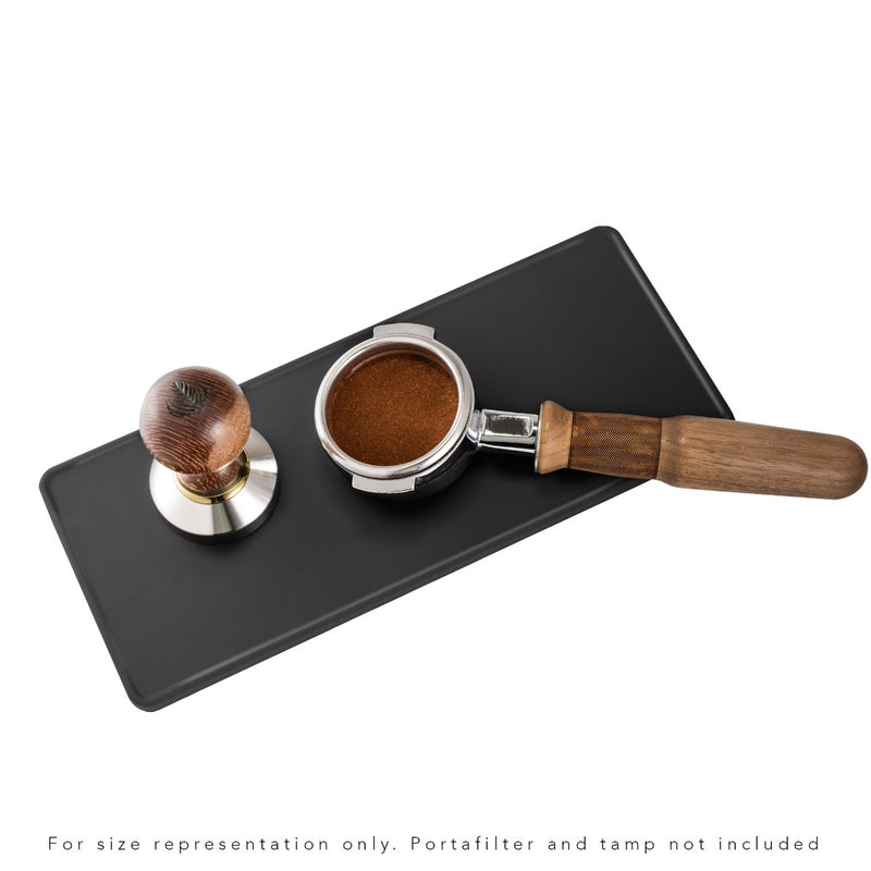 "Barista Basics Tamping & Packing Mat, Large, 5""x12"""