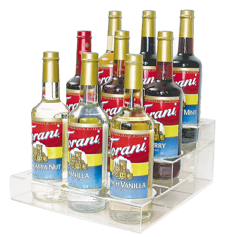 Espresso Syrup Counter Display Rack