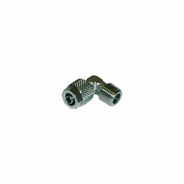 "1/8"" M BSP x 4mm Compression Barb Elbow Fitting"