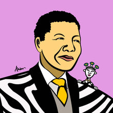 Load image into Gallery viewer, Mandela Clan Zebra Pop
