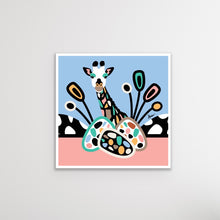 Load image into Gallery viewer, Jerry Giraffe Blue Pop