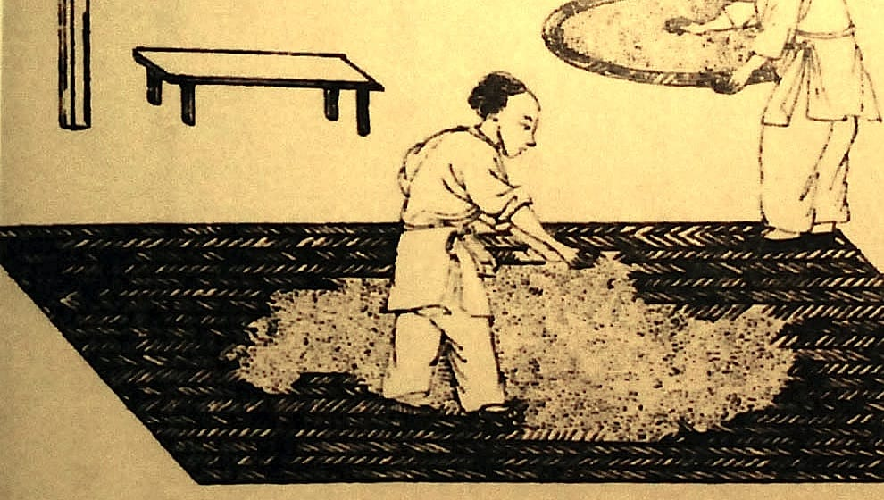 Chinese history of distilling