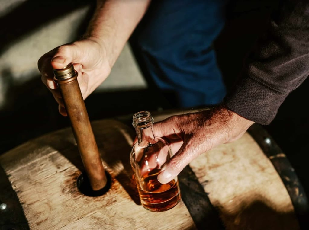 Copper Dipping Dog Whisky Cask