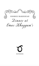 Load image into Gallery viewer, Dinner at Omar Khayyam's