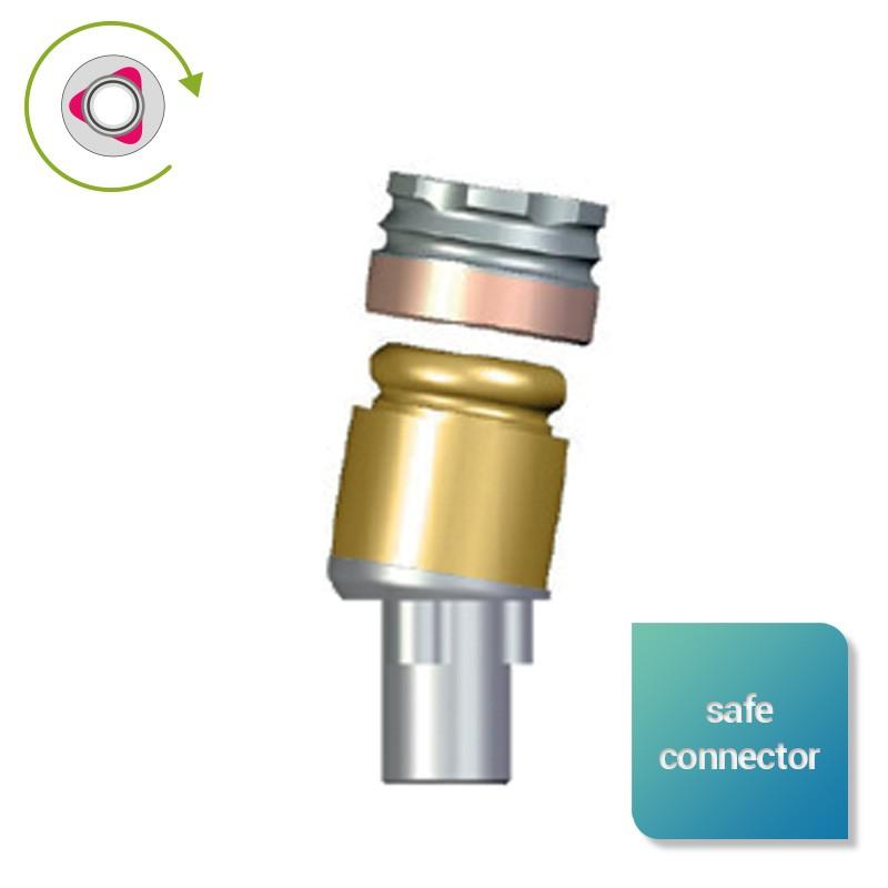 Safe Connector angulés inversés compatibles NobelReplace Select™