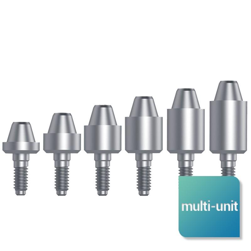 Piliers multi-unit droits large