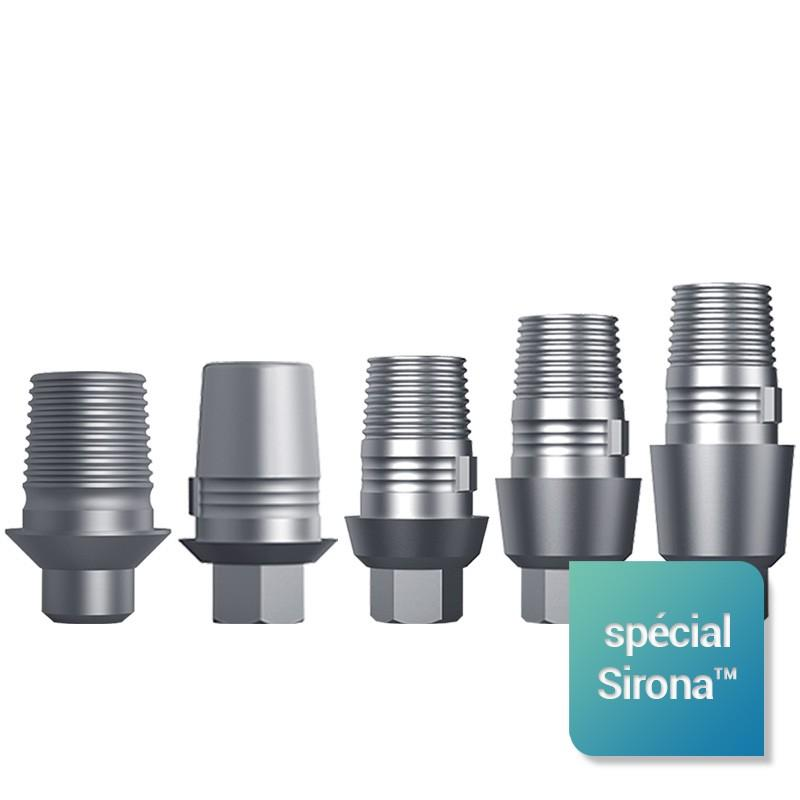 Interfaces scannables Spécial Sirona™ pour hexagone interne Ø 2.43 mm