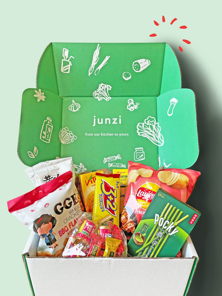 Load image into Gallery viewer, Junzi Snack Box   -   Holiday Gift Box Edition