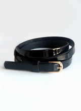 Narrow waist belt