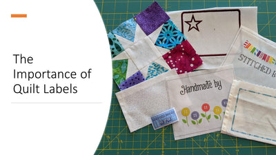 The Importance of Quilting Labels