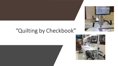 Quilting by Checkbook