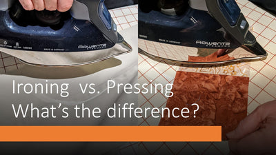 Ironing vs. Pressing What's the Difference?