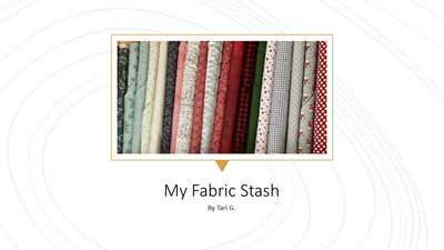 My Fabric Stash