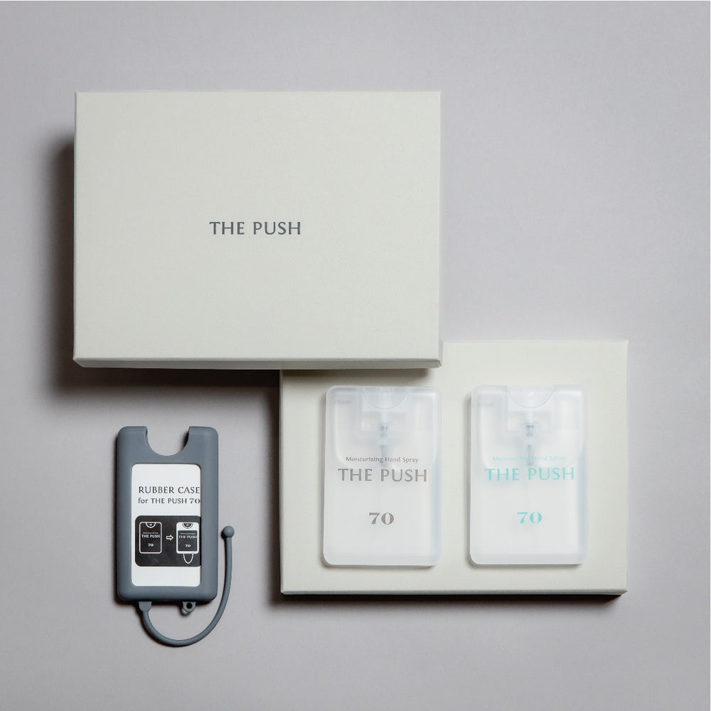 THE PUSH 70 / Gift S Set  【WHITE】