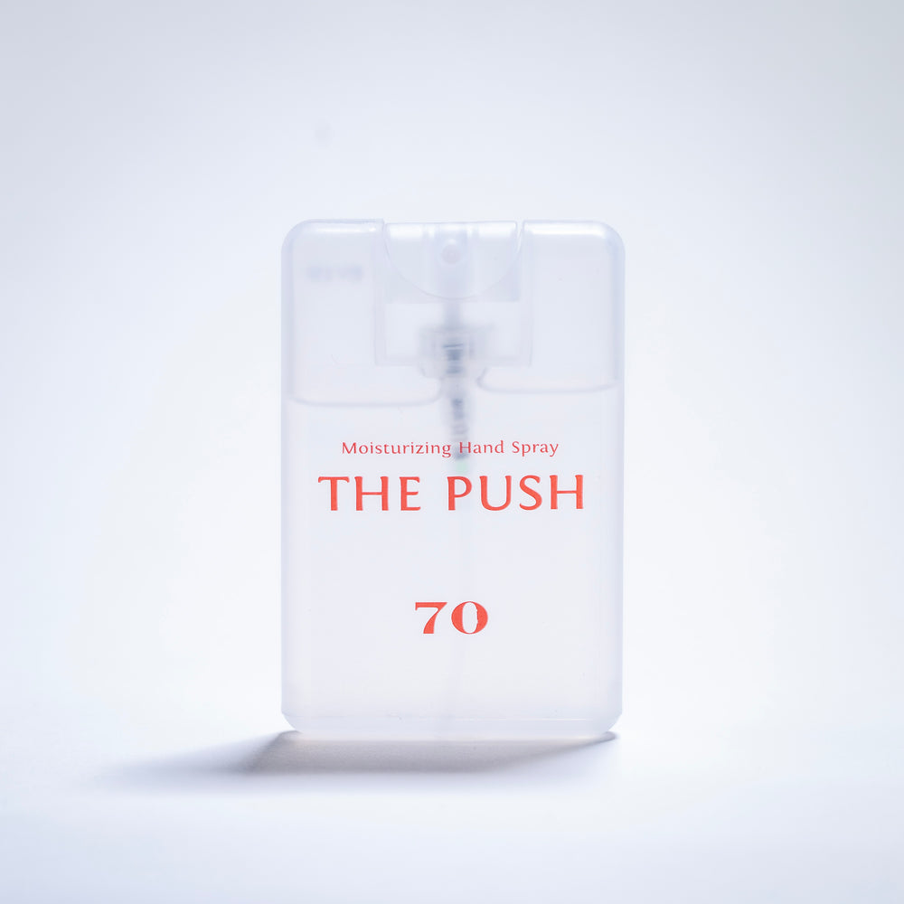 THE PUSH 70 / Moisturizing Hand Spray / APRICOT