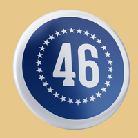 """46"" Button 2-Pack"