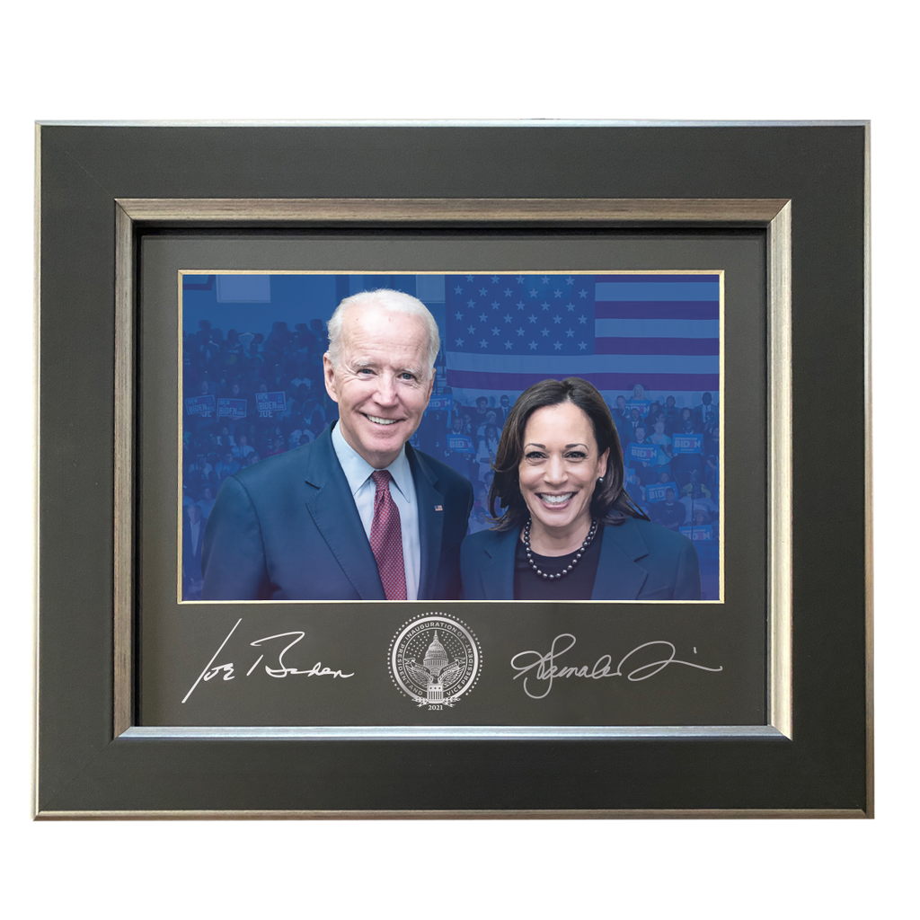 Biden & Harris Framed Photo