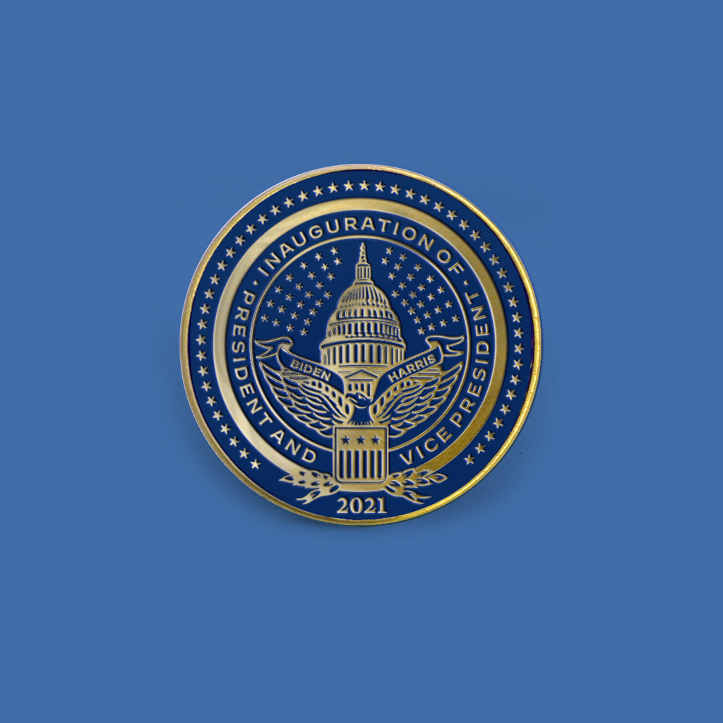 Inaugural Seal Lapel Pin